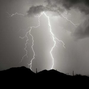 Summer Lightning I – BW
