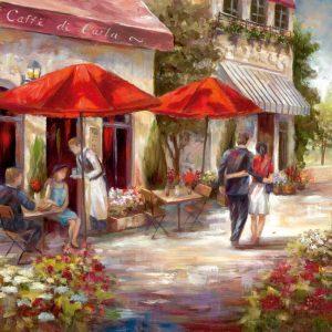 Cafe Afternoon I
