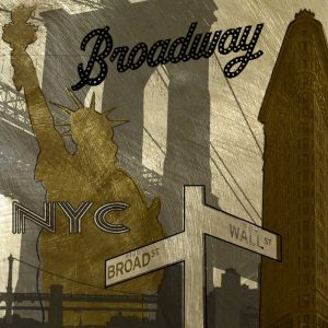 Broadway In Gray