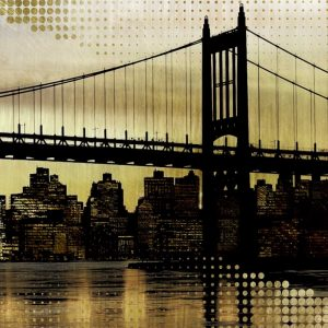 City Metallic In Gold