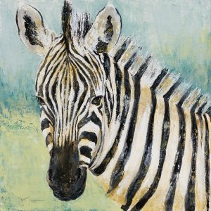 Painterly Zebra