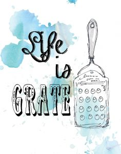 Life is Grate