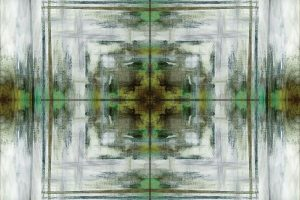 Green Grey Kaleidoscope