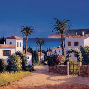 Mediterranean Morning Shadows II