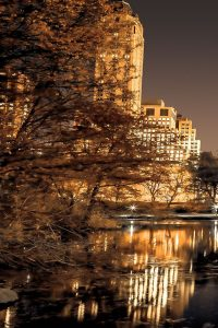 Central Park Glow I