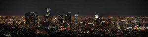 LA Night Panorama