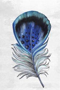 Indigo Feather III