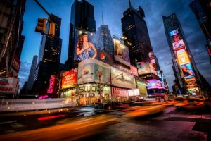 Times Square Rays of Light I