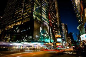 Times Square Rays of Light V