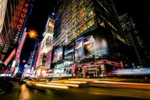 Times Square Rays of Light VI