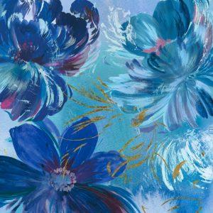 Midnight Floral I