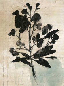 Inky Floral III