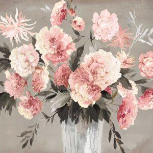 Violet Bouquet Peach Version