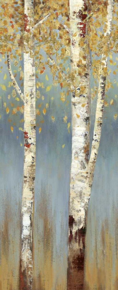 Butterscotch Birch Trees II