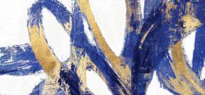 Indigo Abstract V