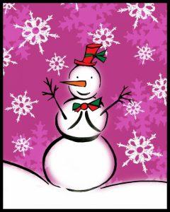 Silly Snowmen IX