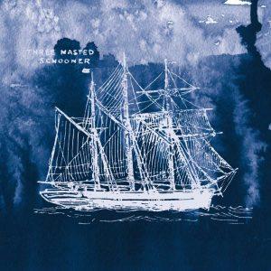 Sailing Ships II Indigo