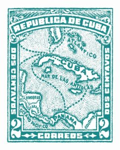Cuba Stamp XIII Bright