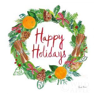 Holiday Wreath II
