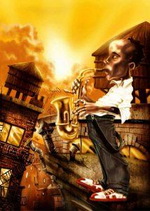 The Saxophonist -1