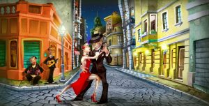 Tango color
