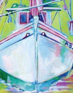 Sunset Boat I