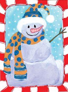 Happy Snowman I