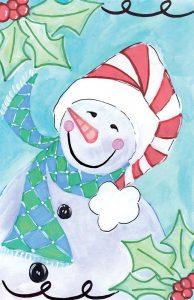 Happy Snowman II