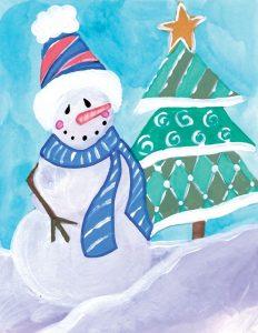 Happy Snowman III
