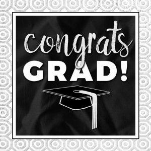 Congrats Grad! Silver
