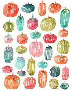Bright Pumpkins 300