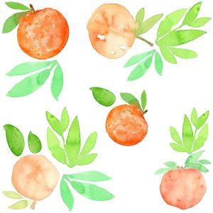 Peaches Pattern