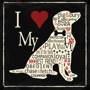 I Love My Dog – Lab