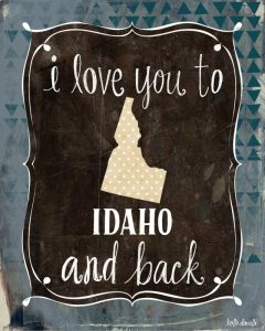 Idaho and Back