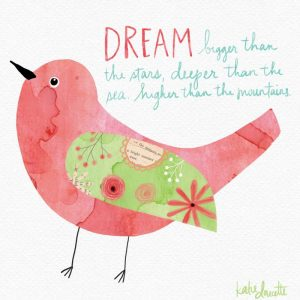 Dream Watercolor Bird