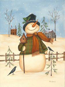 Snowman Bird House II