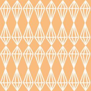 Diamonds – Coral White