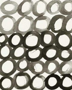 BW Circles Pattern