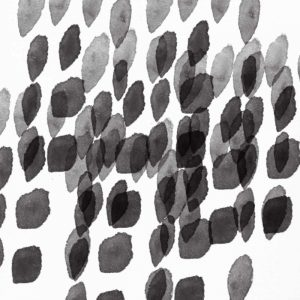 Black and White Drops Pattern