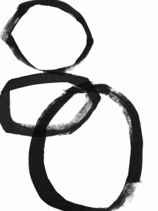Brushstroke Circles I