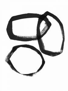 Brushstroke Circles III