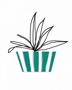 Green Pot III