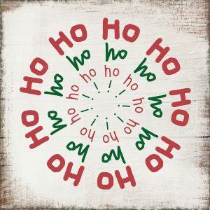 Ho Ho Ho – Red and Green