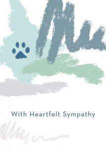 Heartfelt Sympathy Pet