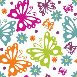 Butterflies and Blooms Lively II