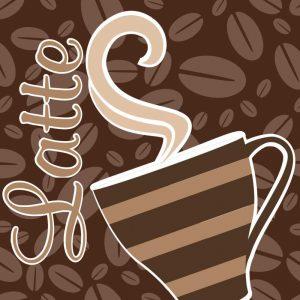 Cafe Au Lait Cocoa Latte VIII