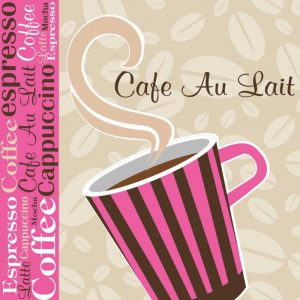Cafe Au Lait Cocoa Punch I