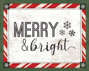 Words Christmas I