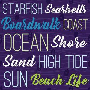 Cape Cod Typography