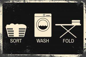 Sort, Wash, Fold